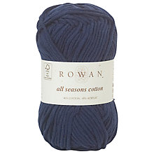 Buy Rowan All Seasons Cotton Yarn, 50g Online at johnlewis.com