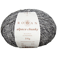 Buy Rowan Alpaca Chunky Yarn, 100g Online at johnlewis.com