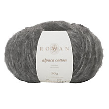 Buy Rowan Alpaca Cotton Yarn, 50g Online at johnlewis.com