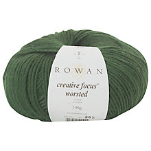 Buy Rowan Creative Focus Worsted Yarn, 100g Online at johnlewis.com