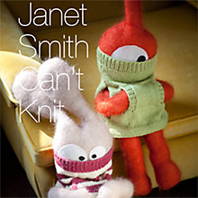 Buy Can't Knit: 12 Handknit Designs by Janet Smith Craft Book Online at johnlewis.com