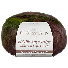 Buy Rowan Kidsilk Haze Stripe Yarn, 50g Online at johnlewis.com