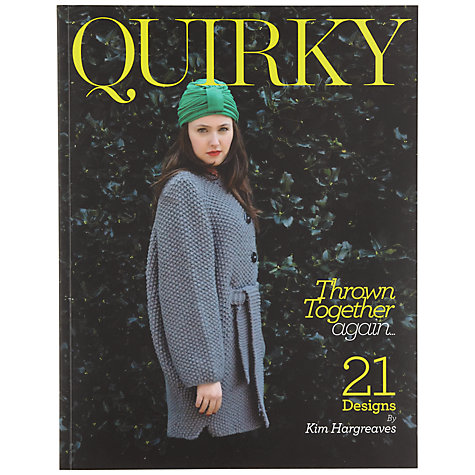 Buy Quirky Knitting Pattern Book Online at johnlewis.com