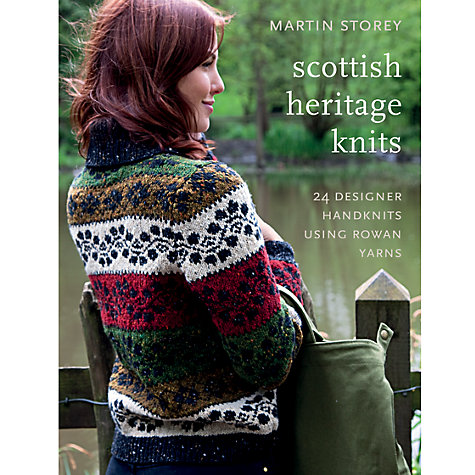 Buy Rowan Scottish Heritage Knits by Martin Storey Knitting Book Online at johnlewis.com