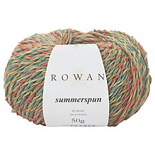 Buy Rowan Summerspun Yarn, 50g Online at johnlewis.com