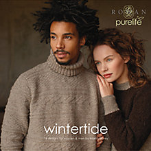 Buy Rowan Purelife Wintertide Knitting Patterns Brochure Online at johnlewis.com