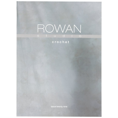 Buy Rowan Crochet Studio Brochure, Issue 29 Online at johnlewis.com