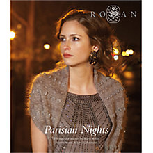 Buy Rowan Parisian Nights Knitting & Crochet Patterns Brochure Online at johnlewis.com