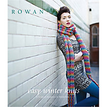 Buy Rowan Easy Winter Knits Knitting Pattern Brochure Online at johnlewis.com