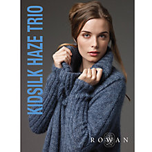 Buy Rowan Kidsilk Haze Trio Knitting Patterns Brochure Online at johnlewis.com