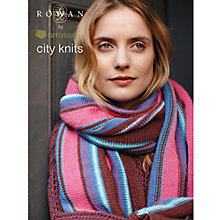 Buy Rowan City Knits Knitting & Sewing Patterns Brochure Online at johnlewis.com