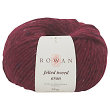 Buy Rowan Felted Tweed Aran Yarn Online at johnlewis.com