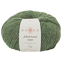 Buy Rowan Felted Tweed Aran Yarn, 50g Online at johnlewis.com