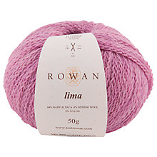 Buy Rowan Lima Alpaca Mix Yarn, 50g Online at johnlewis.com
