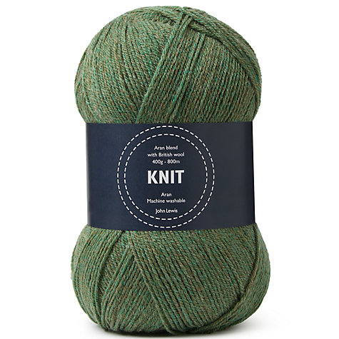 Buy John Lewis Heritage Aran Yarn, 400g Online at johnlewis.com