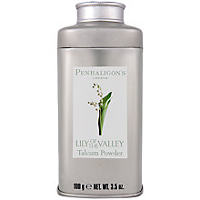 Buy Penhaligons Lily of the Valley Talcum Powder, 100g Online at johnlewis.com