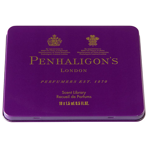 Buy Penhaligon's Unisex Scent Library,10 Phials Online at johnlewis.com