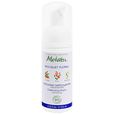 Buy Melvita Clarifying Cleansing Foam Floral Bouquet, 125ml Online at johnlewis.com