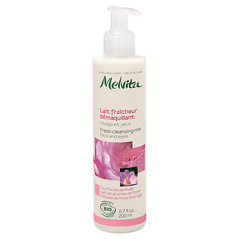Buy Melvita Rose Nectar Fresh Cleansing Milk, 200ml Online at johnlewis.com