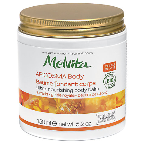 Buy Melvita Apicosma Ultra-Nourishing Body Balm, 150ml Online at johnlewis.com