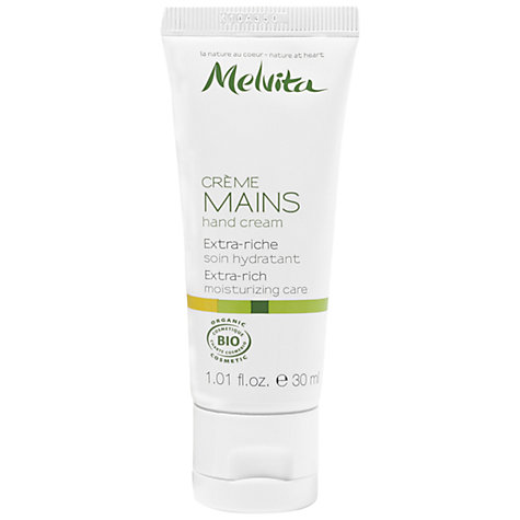Buy Melvita Extra-Rich Hand Cream, 30ml Online at johnlewis.com