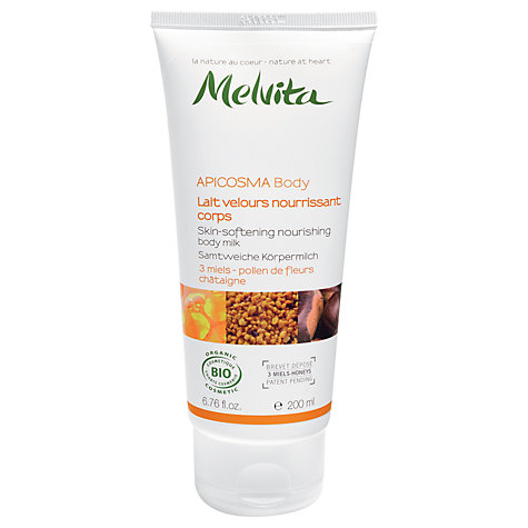Buy Melvita Skin Softening Body Milk, 200ml Online at johnlewis.com