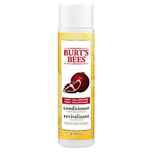 Buy Burt's Bees Very Volumizing Pomegranate Conditoner, 300ml Online at johnlewis.com