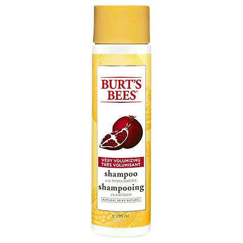 Buy Burt Bees Very Volumizing Pomegranate and Soy Shampoo, 300ml Online at johnlewis.com