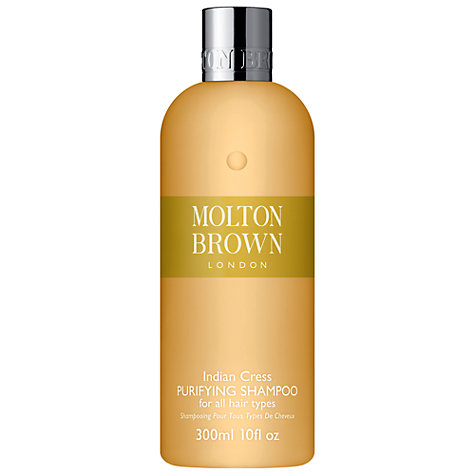 Buy Molton Brown Indian Cress Purifying Shampoo, 300ml Online at johnlewis.com
