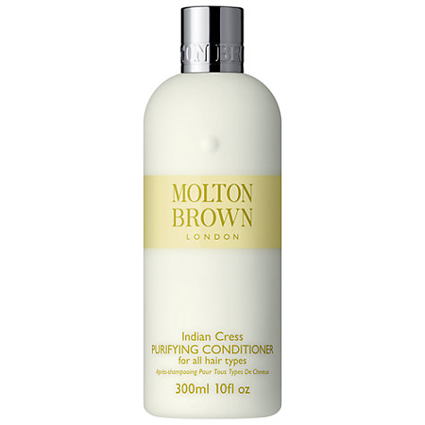 Buy Molton Brown Indian Cress Purifying Conditioner, 300ml Online at johnlewis.com
