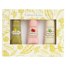 Buy Crabtree & Evelyn Botanical Hand Treats, 3 x 25g Online at johnlewis.com