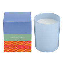 Buy John Lewis Bath & Body Lavender and Amber Candle, 175g Online at johnlewis.com