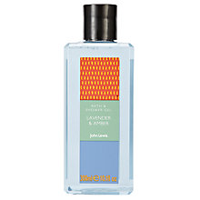 Buy John Lewis Lavender & Amber Bath and Shower Gel, 300ml Online at johnlewis.com