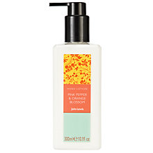 Buy John Lewis Pink Pepper and Orange Blossom Hand Lotion, 300ml Online at johnlewis.com