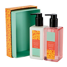 Buy John Lewis Pink Pepper and Orange Blossom Hand Care Duo, 2 x 250ml Online at johnlewis.com