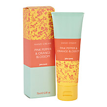 Buy John Lewis Pink Pepper and Orange Blossom Hand Cream Online at johnlewis.com