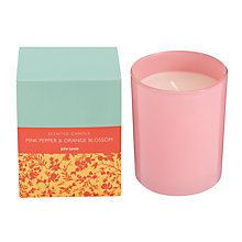 Buy John Lewis Bath & Body Pink Pepper and Orange Candle, 175g Online at johnlewis.com