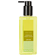 Buy John Lewis Verbena and Green Lemon Hand Wash, 300ml Online at johnlewis.com