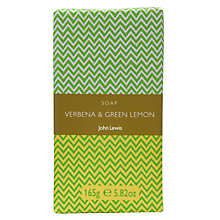 Buy John Lewis Bath & Body Verbena and Green Lemon Soap, 150g Online at johnlewis.com