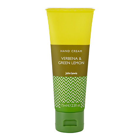 Buy John Lewis Verbena and Green Lemon Hand Cream, 75ml Online at johnlewis.com