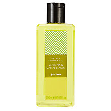 Buy John Lewis Verbena and Green Lemon Shower Gel, 300ml Online at johnlewis.com