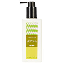 Buy John Lewis Verbena and Green Lemon Hand Lotion, 300ml Online at johnlewis.com