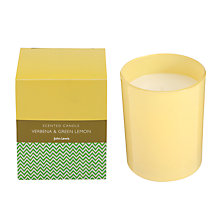 Buy John Lewis Bath & Body Verbena and Green Lemon Candle, 175g Online at johnlewis.com