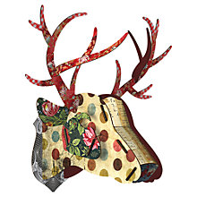 Buy Miho Unexpected Things Stag Head (her Majesty) Online at johnlewis.com