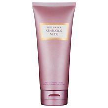 Buy Estée Lauder Sensuous Nude Body Cleansing Creme, 200ml Online at johnlewis.com