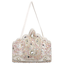 Buy John Lewis Girl Crown Embellished Handbag Online at johnlewis.com