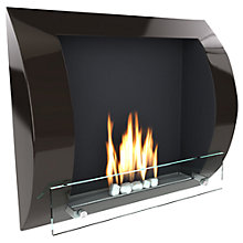 Buy Imagin Fuego Bioethanol Fireplace, Black Online at johnlewis.com