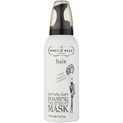 Buy Percy & Reed Lovingly Light Foaming Treatment Mask, 150ml Online at johnlewis.com
