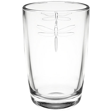 Buy La Rochere Dragonfly Highball, 0.4L, Clear Online at johnlewis.com