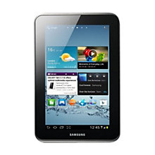 "Buy Samsung Galaxy Tab 2 Tablet, ARM Cortex A9, 1GHz, Android, 7"", Wi-Fi, 16GB, Silver Online at johnlewis.com"